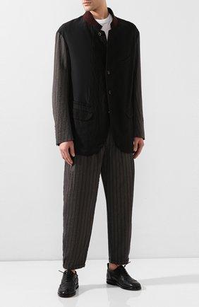 Мужские кожаные оксфорды BRUNO BORDESE черного цвета, арт. BBUCU04I | Фото 2