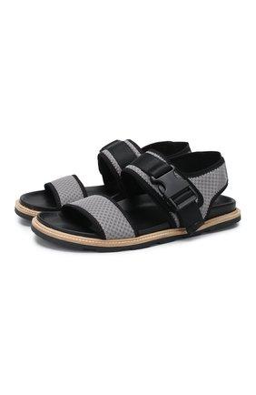 Мужские текстильные сандалии VIC MATIE серого цвета, арт. 1X8194U.X02C5BBM16 | Фото 1