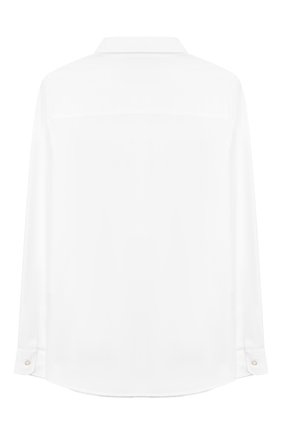 Детская хлопковая рубашка GUCCI белого цвета, арт. 546821/XWAAQ | Фото 2