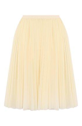 Детская юбка GUCCI белого цвета, арт. 595376/ZADK0 | Фото 2