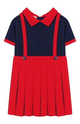Женский платье GUCCI красного цвета, арт. 596294/XKA6A | Фото 1