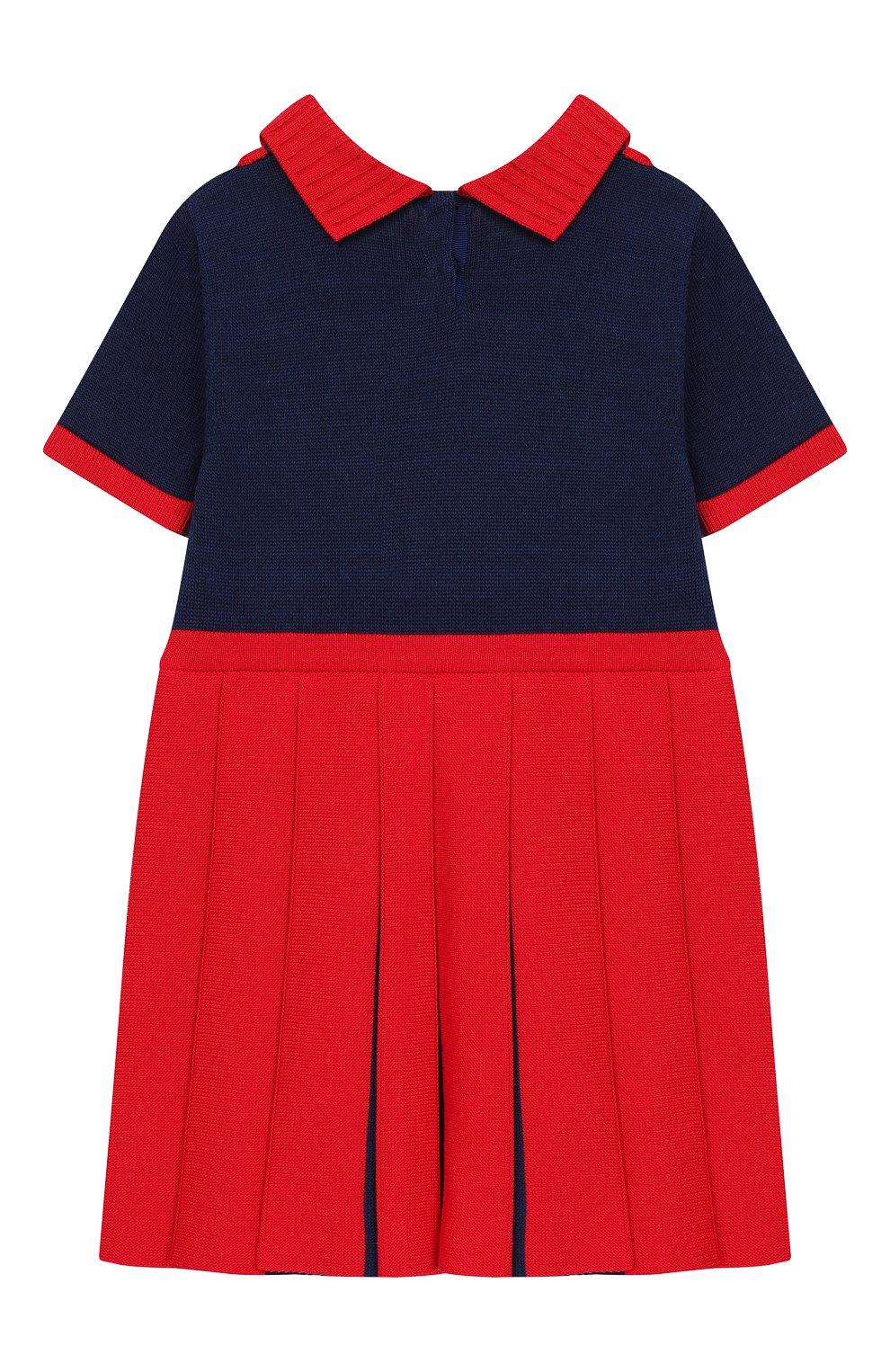 Женская платье GUCCI красного цвета, арт. 596294/XKA6A   Фото 2