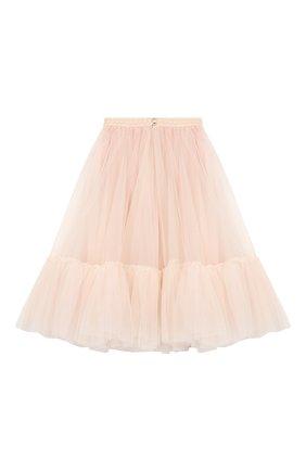 Детская многослойная юбка DESIGNERS CAT розового цвета, арт. 100000K01000324/10A-12A | Фото 2
