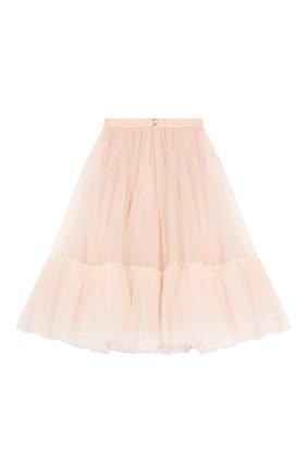 Детская многослойная юбка DESIGNERS CAT розового цвета, арт. 100000K01000324/4A-8A | Фото 2