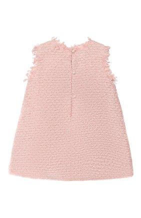 Детское платье DESIGNERS CAT розового цвета, арт. 100000K01000392/2A | Фото 2