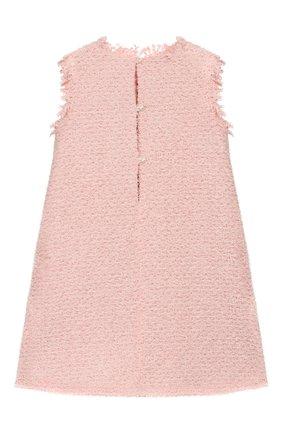 Детское платье DESIGNERS CAT розового цвета, арт. 100000K01000392/4A-8A | Фото 2
