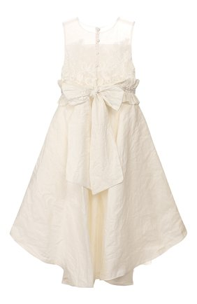 Детское платье DESIGNERS CAT бежевого цвета, арт. 100000K01000396/4A-8A | Фото 2