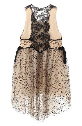Детское платье DESIGNERS CAT черного цвета, арт. 100000K01000398/4A-8A | Фото 2