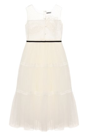 Детское платье DESIGNERS CAT белого цвета, арт. 100000K01000400/10A-12A | Фото 2