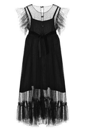 Детское платье DESIGNERS CAT черного цвета, арт. 100000K01000435/10A-12A | Фото 2