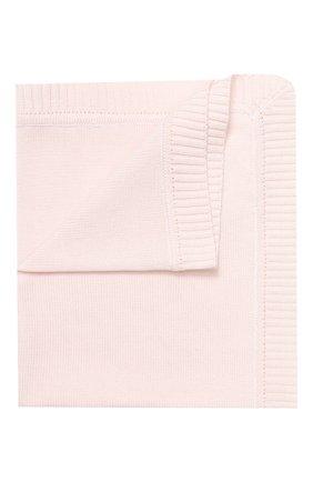 Детского хлопковое одеяло IL TRENINO розового цвета, арт. 20 6914/E0 | Фото 1