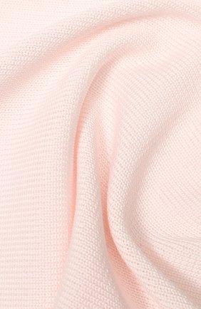 Детского хлопковое одеяло IL TRENINO розового цвета, арт. 20 6914/E0 | Фото 2