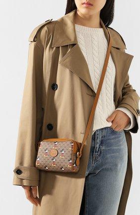 Женская сумка disney x gucci GUCCI коричневого цвета, арт. 602536/HWUBM | Фото 2