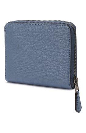 Женские кожаное портмоне COACH синего цвета, арт. 29677 | Фото 2