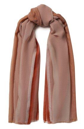 Мужские хлопковый шарф aylit LORO PIANA розового цвета, арт. FAL1125 | Фото 1
