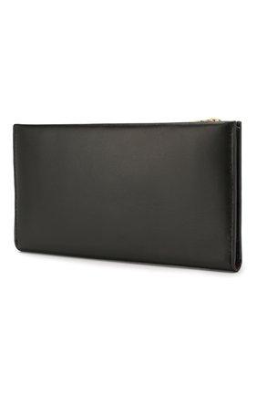 Женские кожаный кошелек COACH черного цвета, арт. 78384 | Фото 2
