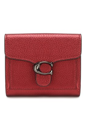 Женские кожаное портмоне COACH красного цвета, арт. 79622   Фото 1