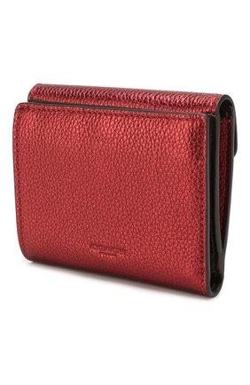 Женские кожаное портмоне COACH красного цвета, арт. 79622   Фото 2
