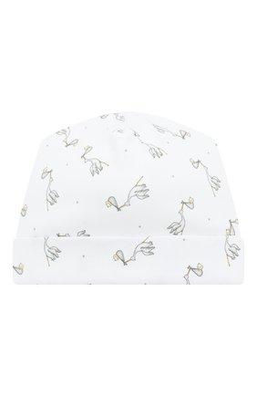 Детского шапка worth the wait MAGNOLIA BABY белого цвета, арт. E103-50P-WH | Фото 1