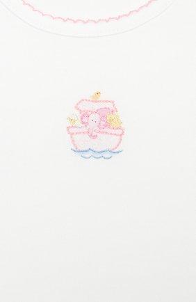 Детского комплект из лонгслива и брюк noah's friends MAGNOLIA BABY розового цвета, арт. E109-27-PK   Фото 6