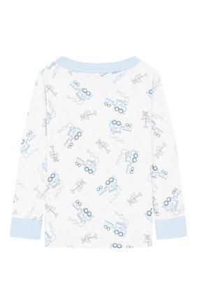 Детский пижама tiny choo choo MAGNOLIA BABY голубого цвета, арт. 569-LP-LB | Фото 3