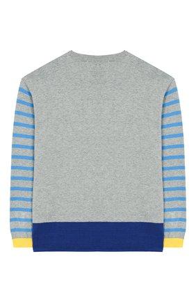 Детский хлопковый пуловер STELLA MCCARTNEY разноцветного цвета, арт. 588495/S0M11 | Фото 2