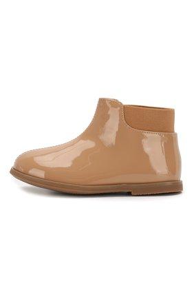 Детские кожаные ботинки AGE OF INNOCENCE бежевого цвета, арт. 000166/GAIA/23-29 | Фото 2