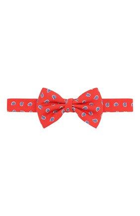 Детский шелковый галстук-бабочка POLO RALPH LAUREN красного цвета, арт. 352794096 | Фото 1