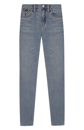 Детские джинсы POLO RALPH LAUREN голубого цвета, арт. 321701275   Фото 1
