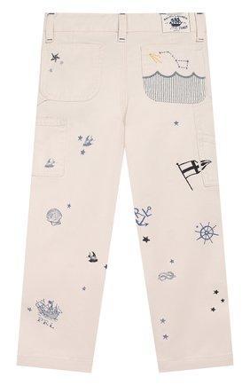 Детские джинсы POLO RALPH LAUREN белого цвета, арт. 313758952 | Фото 2