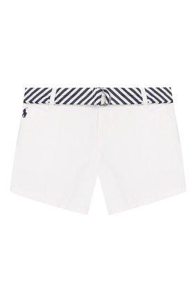 Детские джинсовые шорты POLO RALPH LAUREN белого цвета, арт. 312786044 | Фото 1