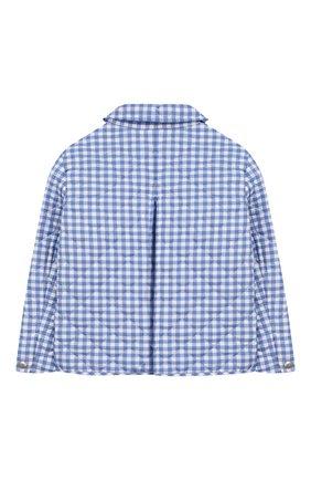 Детская стеганая куртка POLO RALPH LAUREN голубого цвета, арт. 311784837 | Фото 2