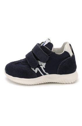 Детские замшевые кроссовки WALKEY синего цвета, арт. Y1B4-40651-0029/19-24 | Фото 2