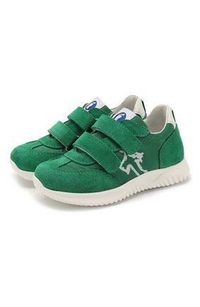 Детские замшевые кроссовки WALKEY зеленого цвета, арт. Y1B4-40651-0029/19-24 | Фото 1