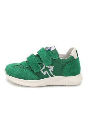 Детские замшевые кроссовки WALKEY зеленого цвета, арт. Y1B4-40651-0029/19-24 | Фото 2