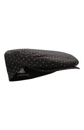 Мужская шелковое кепи DOLCE & GABBANA черного цвета, арт. GH587A/FJ1H1 | Фото 1
