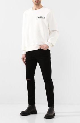Мужские кожаные челси JIL SANDER черного цвета, арт. JI33512A-11590 | Фото 2