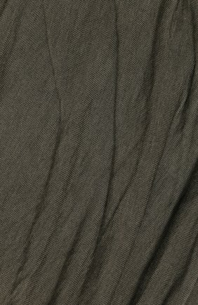 Мужской шарф из вискозы TRANSIT хаки цвета, арт. SCAUTRK5001 | Фото 2