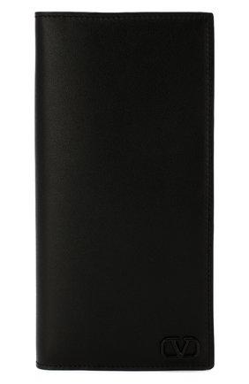 Мужской кожаное портмоне valentino garavani  VALENTINO черного цвета, арт. TY2P0715/ZQU | Фото 1
