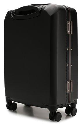 Мужской дорожный чемодан BALLY черного цвета, арт. THERENCE/100 | Фото 2