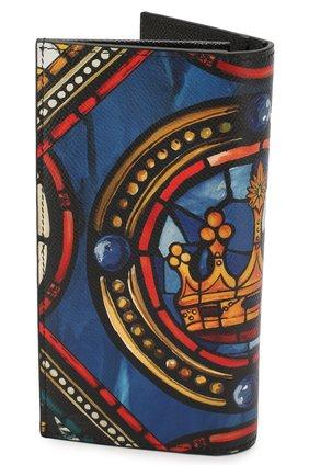 Мужской кожаное портмоне DOLCE & GABBANA разноцветного цвета, арт. BP2573/AZ657 | Фото 2
