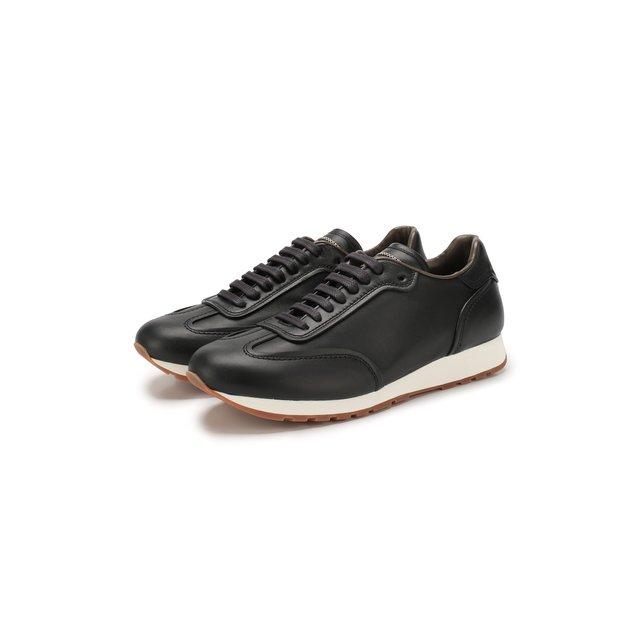 Кожаные кроссовки Brioni — Кожаные кроссовки