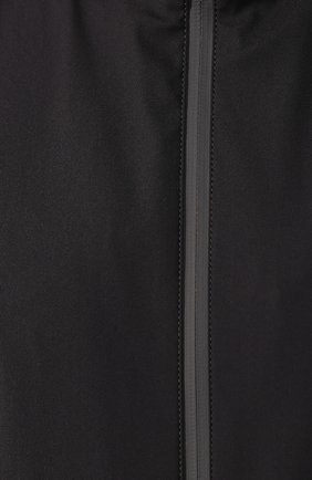 Мужской утепленный жилет LORO PIANA темно-серого цвета, арт. FAL0269   Фото 5 (Кросс-КТ: Куртка; Материал внешний: Шерсть, Синтетический материал; Материал подклада: Синтетический материал; Мужское Кросс-КТ: Верхняя одежда; Длина (верхняя одежда): Короткие; Стили: Кэжуэл)