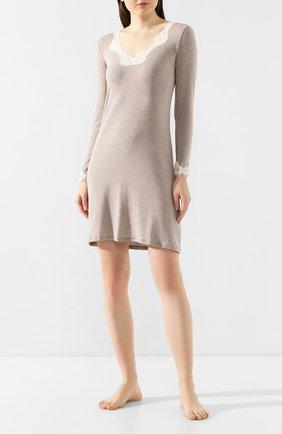 Женская сорочка ANTIGEL бежевого цвета, арт. ENA1306_беж   Фото 2