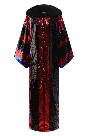 Женская накидка с пайетками BALMAIN разноцветного цвета, арт. SF47843/A019 | Фото 1