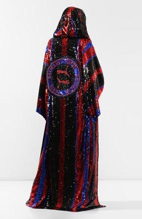 Женская накидка с пайетками BALMAIN разноцветного цвета, арт. SF47843/A019 | Фото 2