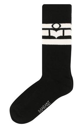 Женские носки ISABEL MARANT черного цвета, арт. CT0076-20P034A/VILY | Фото 1