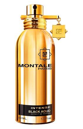 Женский парфюмерная вода black aoud intense MONTALE бесцветного цвета, арт. 3760260455985 | Фото 1
