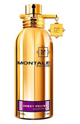 Женский парфюмерная вода sweet peony MONTALE бесцветного цвета, арт. 3760260455930 | Фото 1