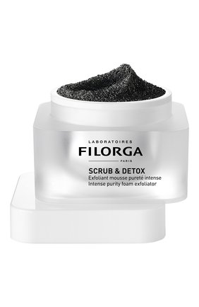 Женского эксфолиант-мусс для интенсивного очищения кожи scrub & detox FILORGA бесцветного цвета, арт. 3540550008844 | Фото 1